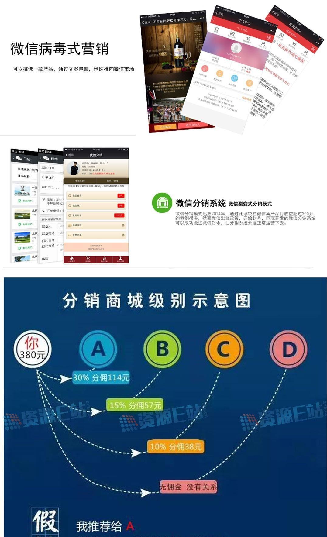 巨瑞JRFX_V3.0微信三级分销系统源码 支持虚拟商品+6套前台模板+短信功能+订单打印物流_源码下载